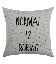 Cushion Cover Paulette La Cerise sur le G?teau, Cushion Cover Paulette, normal is boring
