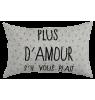 Cushion Cover Paulette La Cerise sur le Gateau Cushion Cover Paulette, amour