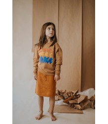 Repose AMS Gebreide Rok Warm Roest ReposeAMS Knit Skirt Warm Rust