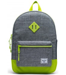 Heritage Backpack Youth CROSSHATCH / Lime Green Herschel Heritage Rugtas Youth CROSSHATCH / Lime Groen