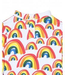 Stella McCartney Kids RAINBOWS LS Baby Swim Top Stella McCartney Kids BIG RAINBOWS LS Baby Swim Top