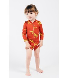 Bobo Choses LUIPAARD Baby Zwem Playsuit Bobo Choses LUIPAARDEN Baby Zwem Playsuit