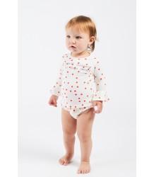 Bobo Choses Ao LEOPARD Baby Ruffle Swim Culotte Bobo Choses Ao STIPPEN Baby Roezel Zwem Broekje