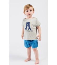 Bobo Choses Ao LEOPARD Baby Shorts Bobo Choses Ao LUIPAARD Baby Short