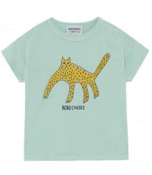 Bobo Choses LEOPARD KM Baby T-shirt Bobo Choses LUIPAARD KM Baby T-shirt
