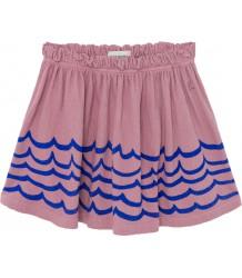 Bobo Choses WAVES Jersey Skirt Bobo Choses GOLVEN Jersey Rokje