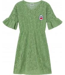 Bobo Choses CROCHET Dress Green Bobo Choses GEHAAKTE Jurk groen