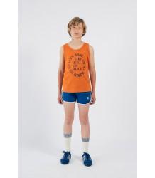 Bobo Choses BLUE Runner Shorts Bobo Choses Blauw Sport Shortje