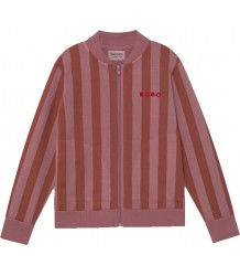 Bobo Choses STRIPED Zipped Sweatshirt Bobo Choses STREEP Sweatshirt Vest
