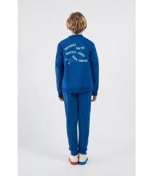 Bobo Choses DANCING LEGS Zipped Sweatshirt obo Choses DANSENDE BENEN Sweatshirt Vest