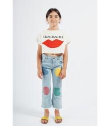 Bobo Choses CHACHACHA KISS Crop Sweatshirt Bobo Choses CHACHACHA KISS Crop Sweatshirt