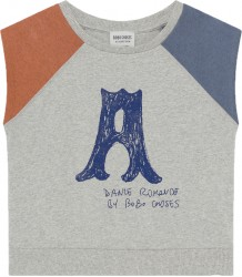 Bobo Choses A DANCE ROMANCE Sleeveless T-shirt Bobo Choses A DANCE ROMANCE Mouwloos Sweatshirt
