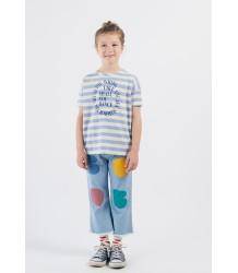 Bobo Choses SHALL YOU DANCE SS Stripe T-shirt Bobo Choses SHALL YOU DANCE KM Streep T-shirt