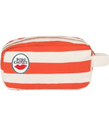 Bobo Choses Red STRIPES Pouch Bobo Choses Rode STREPEN Etui
