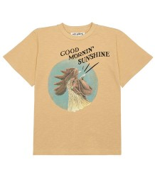 Soft Gallery Asger T-shirt GOEDEMORGEN Soft Gallery Asger T-shirt GOOD MORNIN' SUNSHINE