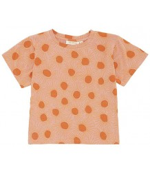 Soft Gallery Dominique T-shirt Top SUNSHINE Soft Gallery Dominique T-shirt Aop ZONNESCHIJN