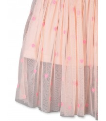 Stella McCartney Kids KLEINE HARTJES Tulle Rokje Stella McCartney Kids LITTLE HEARTS Tulle Skirt
