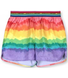 Stella McCartney Kids REGENBOOG Sport Shortje Stella McCartney Kids RAINBOW Poly Shorts