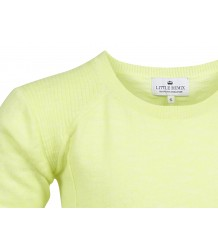 JR Blistop Pullover Little Remix JR Blistop Pullover, neon yellow