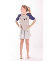 Bengh per Principesse Funny Wide Print Shirt - OUTLET Bengh per Principesse Funny Wide Print Shirt, LOVE