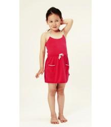 Kidscase Ginger Dress - OUTLET Kidscase Ginger Dress, dark pink