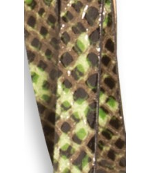 American Outfitters Python Belt American Outfitters slangen riem, groen