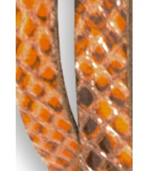 American Outfitters Python Belt - OUTLET American Outfitters, Python Belt, orange
