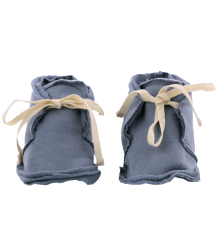 Gray Label Raw Edge Booties Gray Label, Raw Edge Booties, denim blue