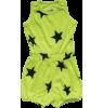 Nununu Short Romper Nununu, Short Romper, neon yellow, stars