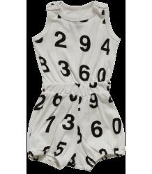 Nununu Short Romper Nununu, Short Romper, white, numbers