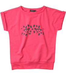 Yporqué Short Sleeve Sweat - OUTLET Yporque, Short Sleeve Sweat, panther eyes, coral
