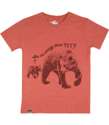 Lion of Leisure T-shirt Bears Lion of Leisure T-shirt Bears, red melange