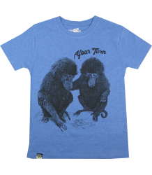 Lion of Leisure T-shirt Baboon Lion of Leisure T-shirt Baboon, blue melange