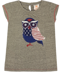 American Outfitters Owl Tee American Outfitters Owl Tee grey melange