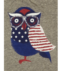 American Outfitters Owl Tee - OUTLET American Outfitters Owl Tee grey melange