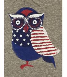 Owl Tee American Outfitters Owl Tee grey melange