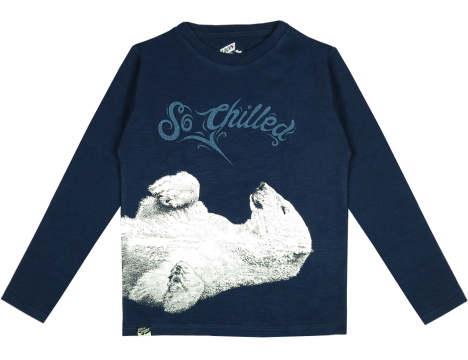 Lion of Leisure T-shirt LS Polar