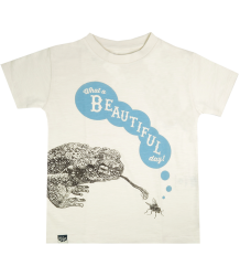 Lion of Leisure T-shirt Toad Lion of Leisure T-shirt Toad off-white