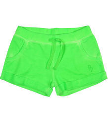 Fleece Shorts Patrizia Pepe Girls Fleece Shorts, neon green