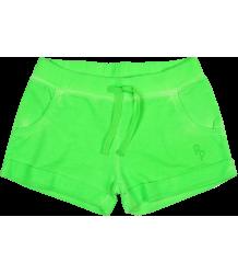 Fleece Shorts Patrizia Pepe Girls Fleece Shorts, neon green