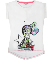 Patrizia Pepe Girls Singlet Tee Patty Patrizia Pepe Girls Singlet Tee Patty