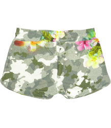 Patrizia Pepe Girls Fleece Shorts Flower Patrizia Pepe Girls Fleece Shorts Flower