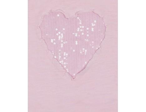 Patrizia Pepe Girls Heart T-shirt
