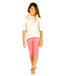 Patrizia Pepe Girls Paillette Sweat Patrizia Pepe Girls Paillette Sweat soft pink