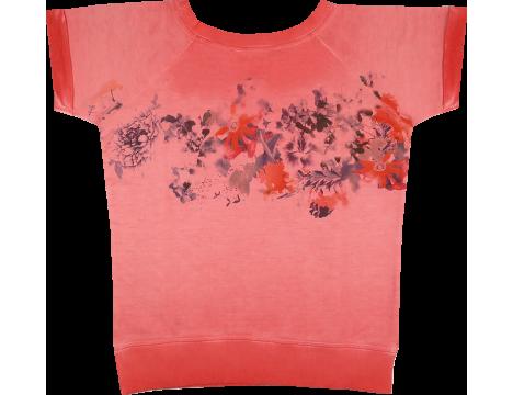 Patrizia Pepe Girls Flower Sweat