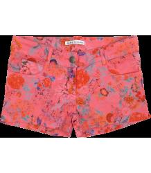 Denim Flower Shorts Patrizia Pepe Girls Denim Flower Shorts