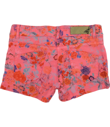 Denim Flower Shorts Patrizia Pepe Girls Denim Flower Shorts