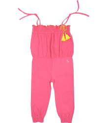 Jersey Jumpsuit Patrizia Pepe Girls Baby Jersey Jumpsuit pink
