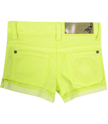 Denim Baby Shorts Patrizia Pepe Girls Denim Baby Shorts yellow
