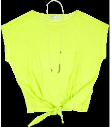 Tie T-shirt Patrizia Pepe Girls Tie Tee